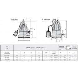 LEO ECH 4-serie horizontale meertrapspomp.