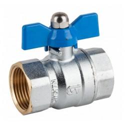 Messing T-stuk 90°, hydrofoorkoppeling